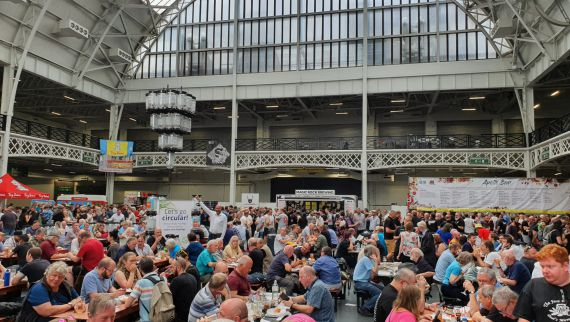 Innovative KeyKeg charms a pioneering Great British Beer Festival